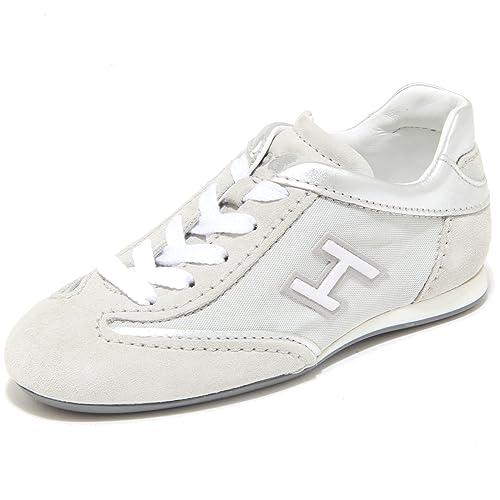 3833I sneakers bimba HOGAN JUNIOR olympia h flock scarpe shoes kids  29  272d76ab96a