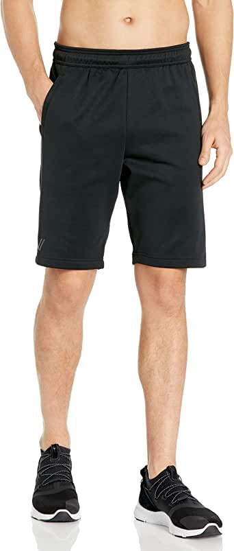Amazon Brand - Peak Velocity Men's Quantum Fleece Loose-Fit Short