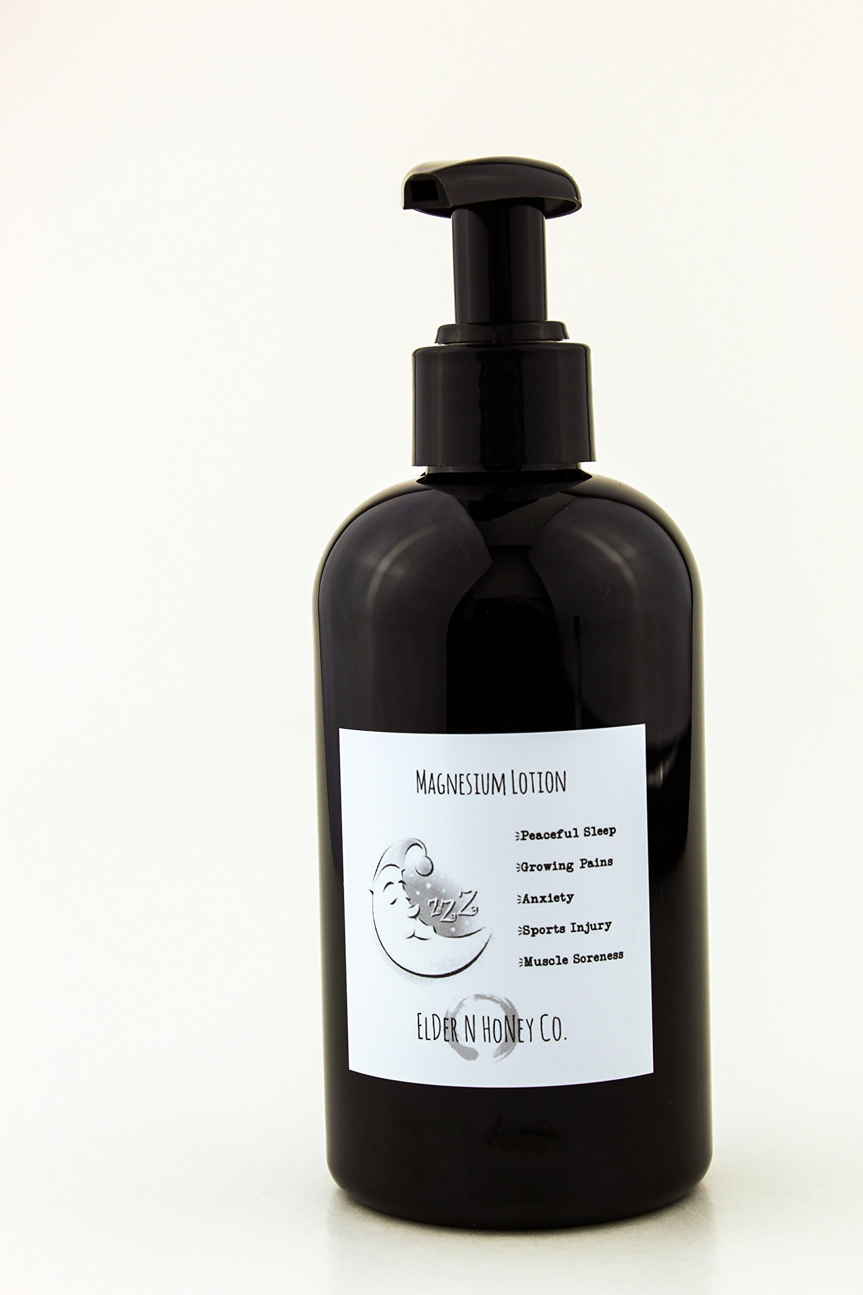 Magnesium Lotion For Kids - Unscented - Organic - Vegan - Growing Pains - Natural Sleep Aid - Sports - Sprains - Mood - Anxiety - All Natural