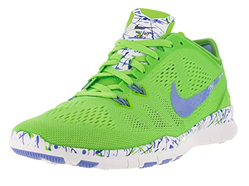 f25c67e491fc9 NIKE Women s WMNS NKE Free 5.0 TR Fit 5 PRT Gymnastics Shoes (Voltage Green