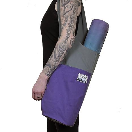 Original ineyt Yoga Sling Bag - lienzo de dos tonos diseño ...