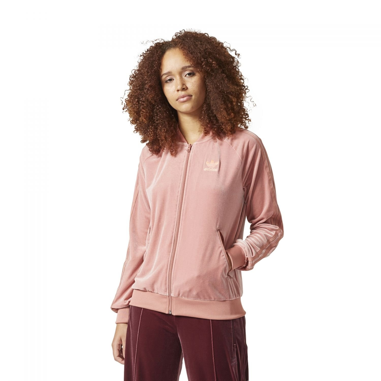 44c9ca402120d adidas Originals Women Velvet Vibes Superstar SST Track Jacket (M (US 8))  at Amazon Women s Clothing store