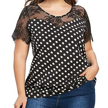 Camisetas de tallas xx para mujeres (S ~ 5XL), LILICAT® 2018 Blusas