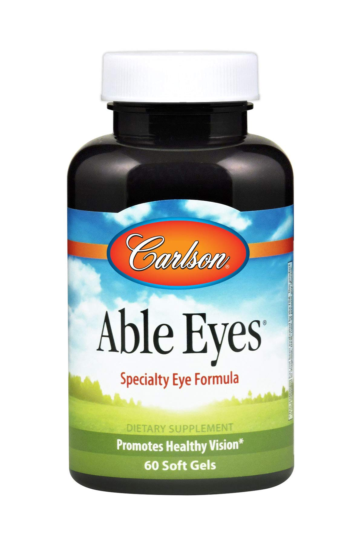 Carlson - Able Eyes, Specialty Eye Formula, Promotes Healthy Vision, 60 Soft gels