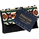 Chronicle Books Pendleton Playing Cards: 2-Deck Set (Camping Games, Gift for Outdoor Enthusiasts)