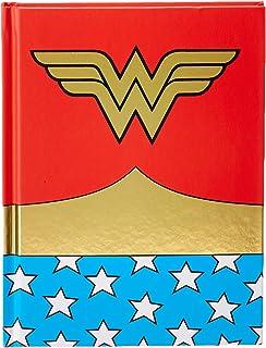 Amazon.com: Bioworld Wonder Woman PU Better Journal Notebook ...