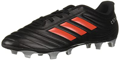 separation shoes d6892 fd210 adidas Men s Copa 19.4 Firm Ground Soccer Shoe, Black hi-res red