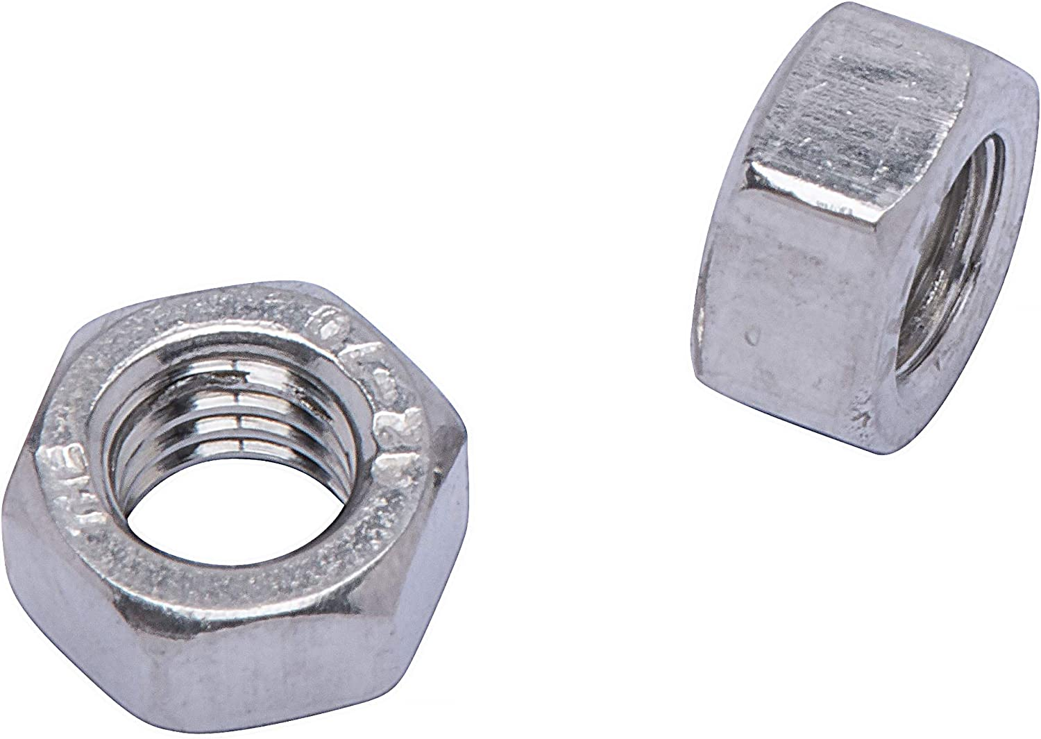 M12-1.75 Metric Stainless Hex Nut, DIN 934 18-8 by Bolt Dropper 25 Pack 304 Stainless Steel Nuts