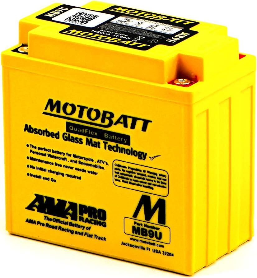 Mb9u Motobat Quadflex Agm Bike Battery 12 V 11 Ah Auto