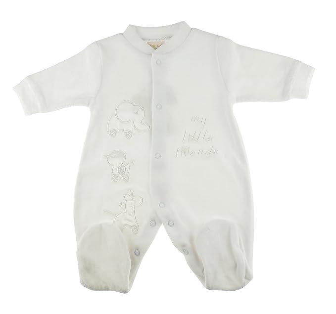 Glamour Girlz - Pelele para dormir - para bebé niña blanco blanco 0-3 Meses: Amazon.es: Ropa y accesorios