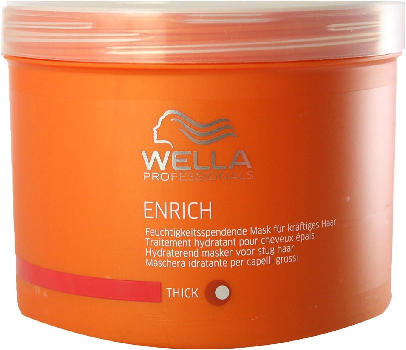 Wella Enrich Mask Thick Hair Mascarilla - 500 ml