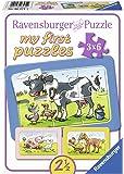 Ravensburger - 06571 - Puzzle Cadre Les Bons Amis 3 x 6 Pièces