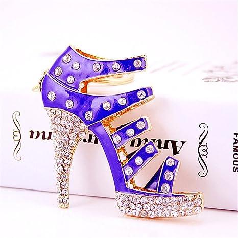 Amazon.com: Tacones altos zapatos de tacón Sandalia bolso ...