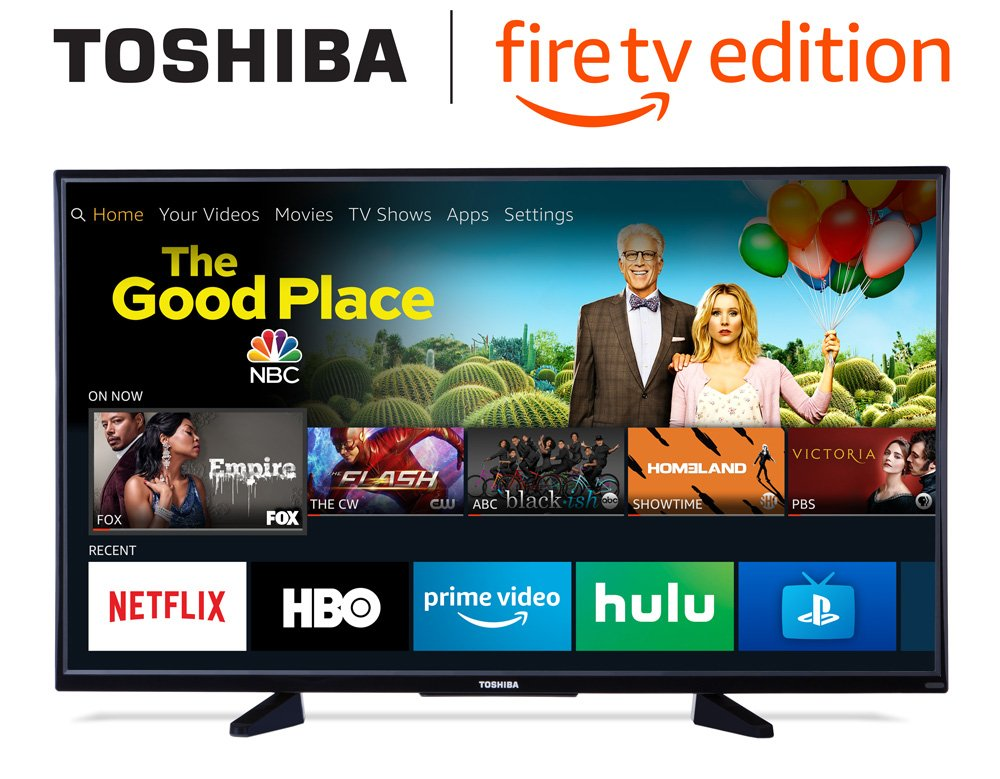 Toshiba 50 Inch 4 K Ultra Hd Smart Led Tv With Hdr   Fire Tv Edition by Toshiba