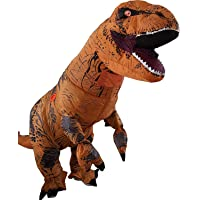 T-Rex Inflatable Dinosaur Mascot Party Costume Fancy Dress