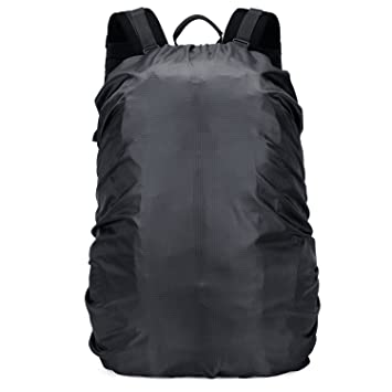 f56393d3ef16 OMERIL Backpack Raincover Waterproof Rucksack Bag Rain Cover for School Hiking  Camping Traveling Cycling