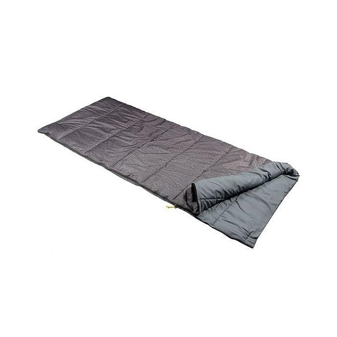 Regatta - Saco de dormir individual modelo Maui (Talla Ã?nica/Gris piedra