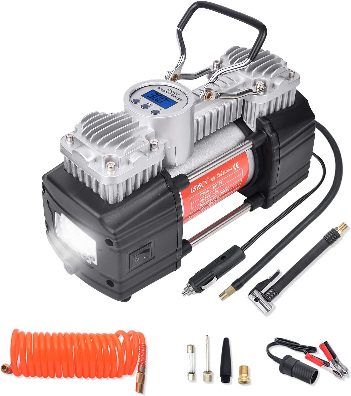 GSPSCN便携式12V空气压缩机泵