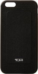 Tumi Two Piece Case for iPhone 6 Plus, Black W/Gunmetal, One Size