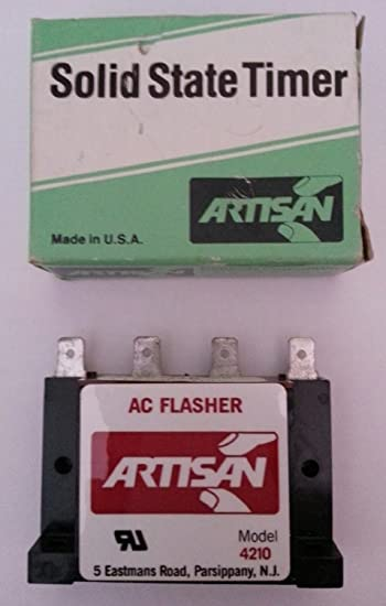 Artisan Solid State Timer 4210 115 60 FPM 115VAC 1amp