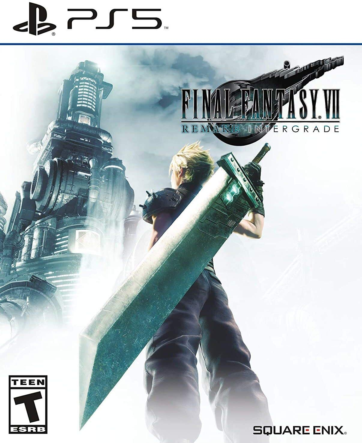 Poster. Final Fantasy 7 Remake Intergrade