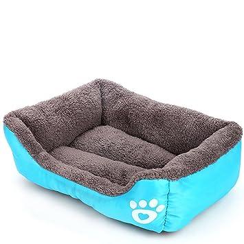 Sun Worlds cama caseta para perro y gato animales pequeños, cesta sofá confortable y extraíble para Animal familier: Amazon.es: Productos para mascotas