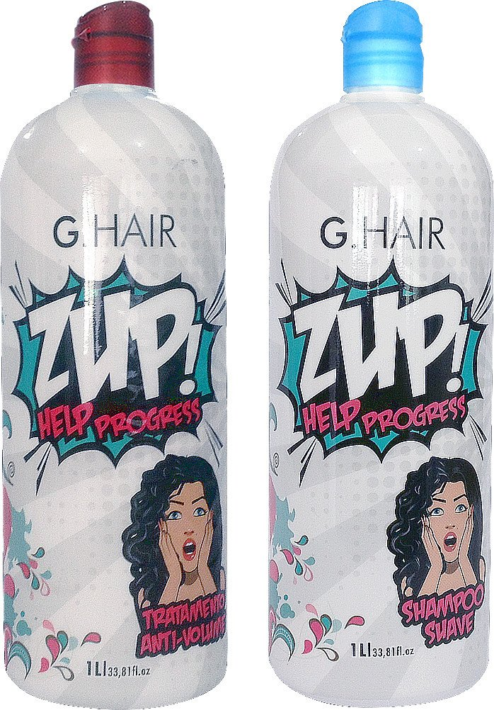 G HAIR BRAZILIAN KERATIN BLOWOUT ZUP TREATMENT (2 X 1 LITRE)