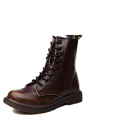 37204e5465ffbe Genuine Leather Women Boots Winter Warm Shoes Botas Feminina Female Ankle Boots  Women Brown with Wool