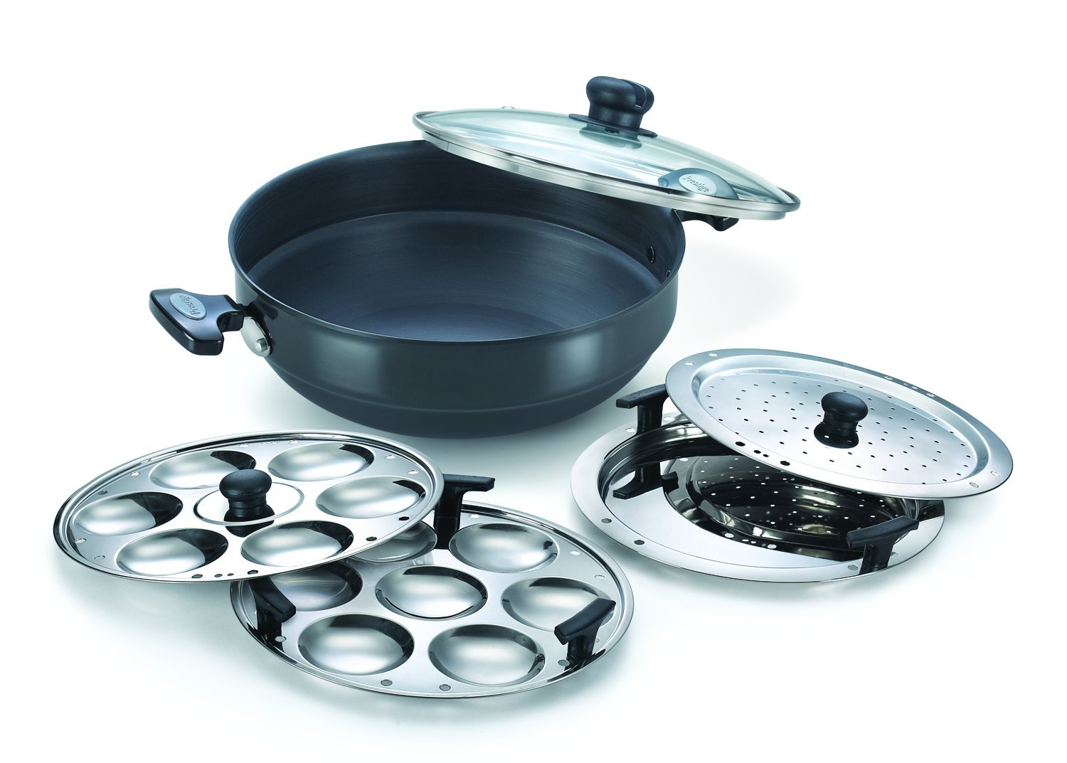 Deals On Prestige Aluminum Multi Kadai