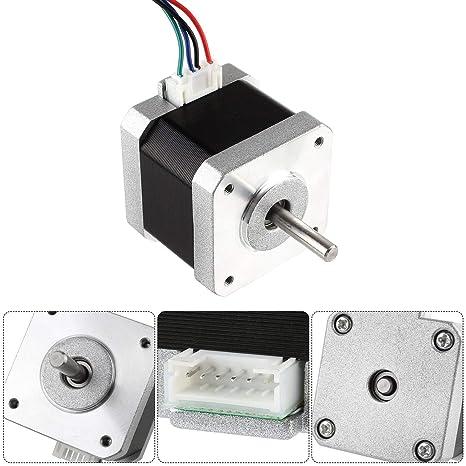 Luxtech - Motor Paso a Paso para Impresora 3D 4,96 V 1,8 Grados ...