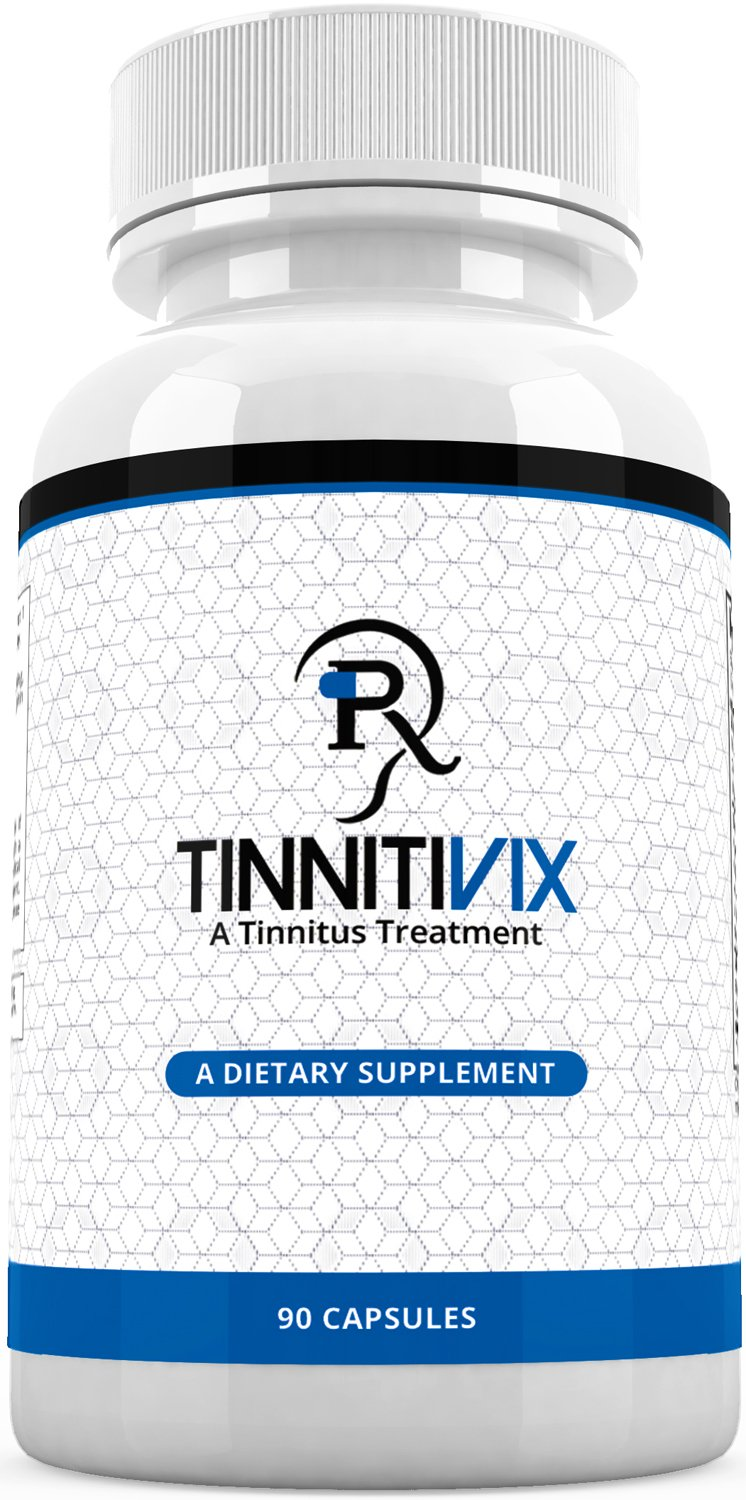 Tinnitivix Effective Natural Tinnitus Relief Supplement - Powerful Formula to Help Stop Ringing in the Ears Formula (30 Caps)