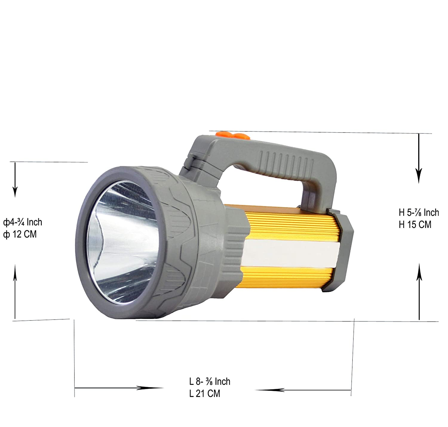Flashlights & Torches Portable Lighting Outdoor Portable Led Flashlight Battery Powered Uv Handheld Spot Light Lamp For Outdoor Camping Hiking Emergency