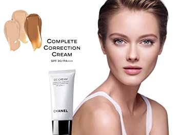 24a8623078 Amazon.com : CHANEL - CC CREAM COMPLETE CORRECTION SPF 30/PA++ 30ml ...