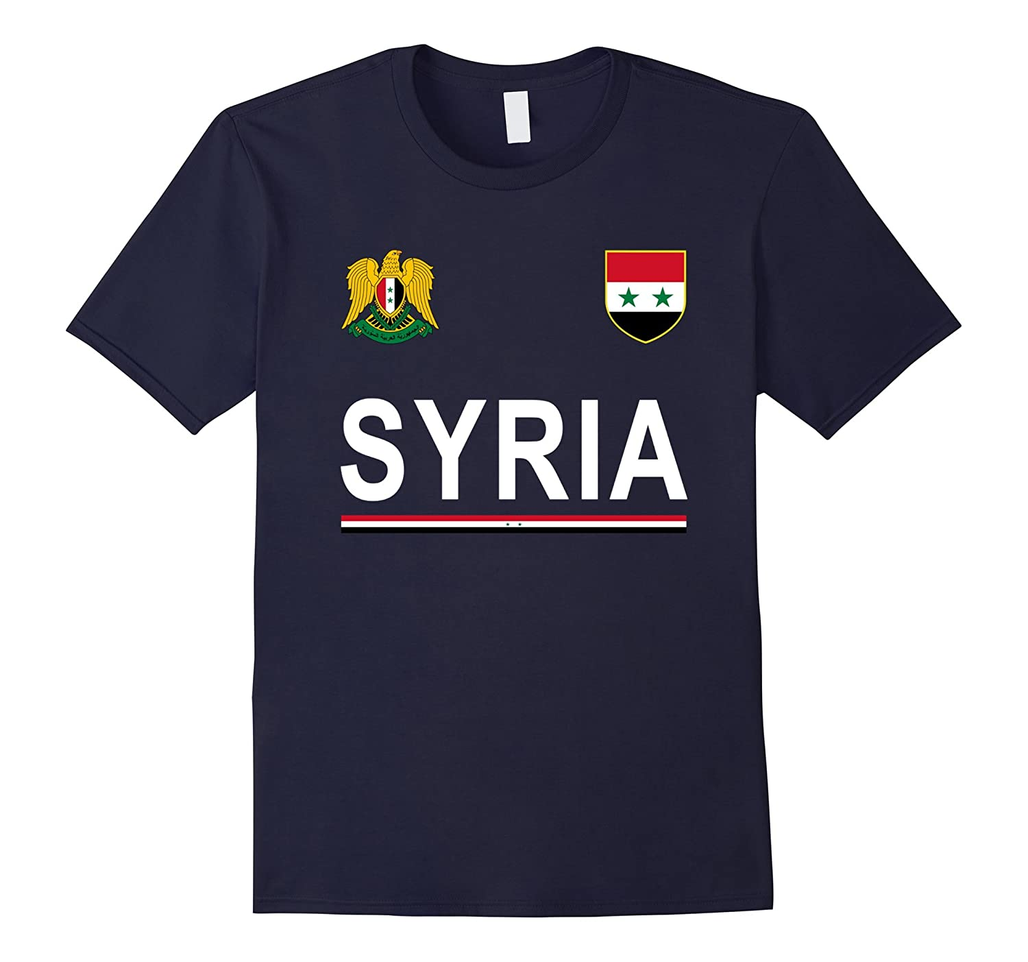 Syria Soccer T-Shirt - Syrian Football Jersey 2017-CD
