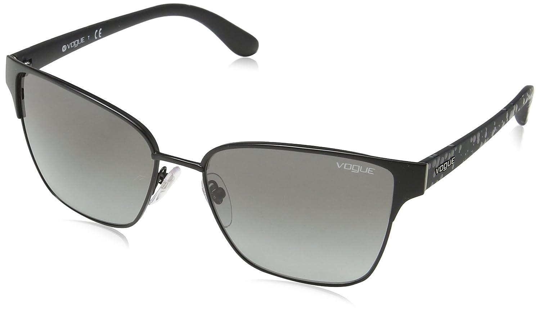 Vogue 0VO3983S 352S11 58, Gafas de Sol para Mujer, Negro ...