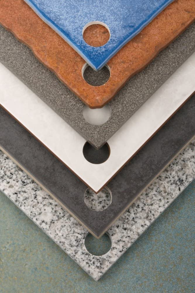 10mm v/ástago 10 mm 74 mm Wolfcraft 5932000 5932000-1 Sierra de Corona Diamant Ceramic con Broca de centrado Profundidad de Corte 45 mm diam