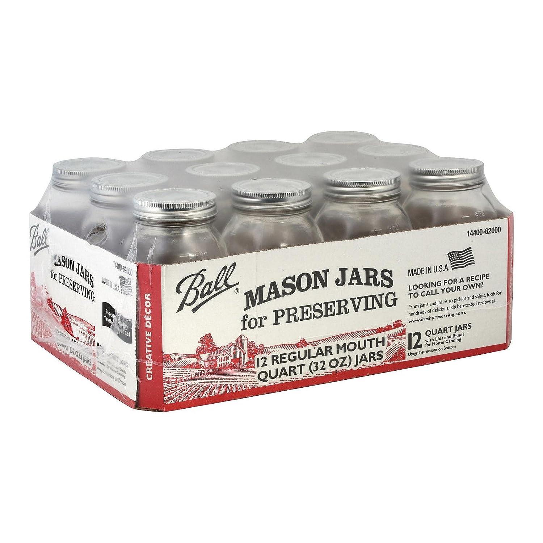 Ball (Canning)), Jar Quart, 12 Count