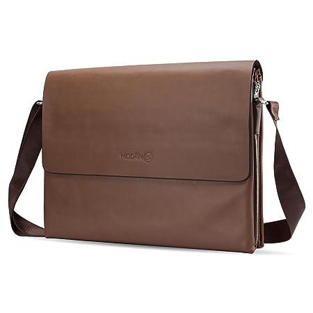 Bolso 16 Pulgadas Laptop Bag, MODAN Maletín De Piel Sintética Para Ordenadores Portátiles Apto También Para Tablets y Notebooks De Hasta 16