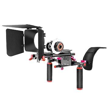 Neewer Kit de Sistema Jaula Rig para Canon Nikon Cámaras Sony y ...