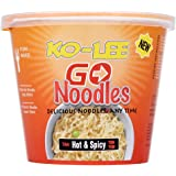 Ko-lee Go Cup Noodles Hot and Spicy Flavour 65 g (Pack of 6)