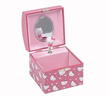 97eddbf36 Hello Kitty Mini Square Musical Jewellery Box: Amazon.co.uk: Toys & Games