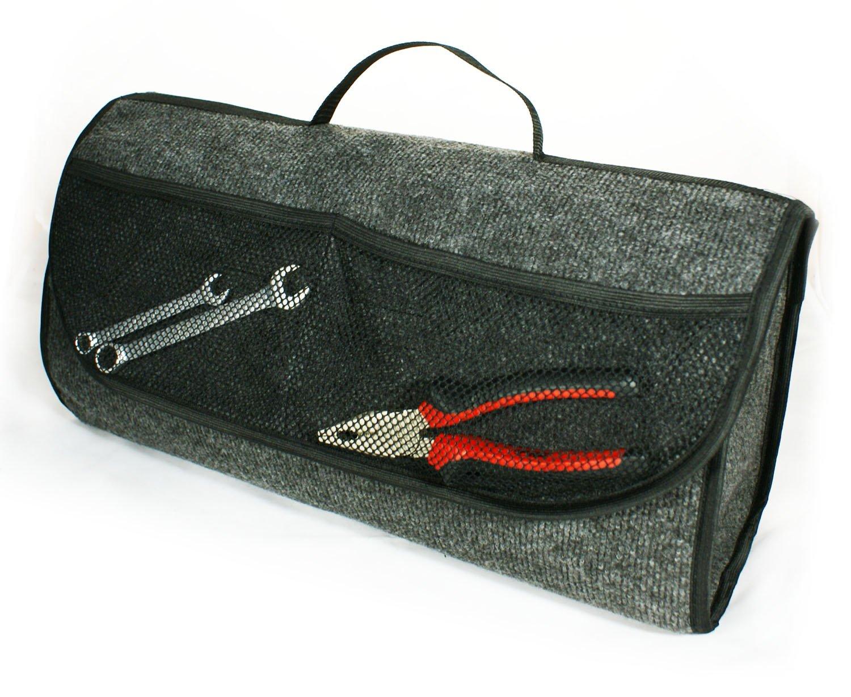 Bolsa para organizar el maletero del automó vil herramientas 26 x 17 x 50 cm Ferocity