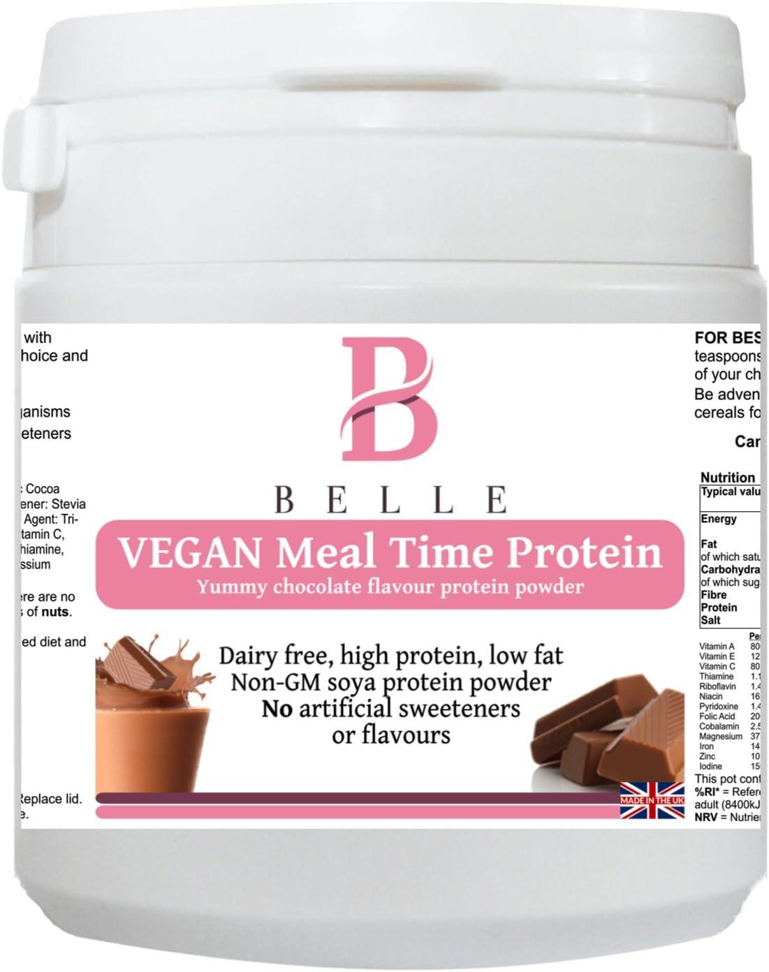 Belle® Vegan Tiempo de comidas Protein Powder - Chocolate Flavor ...
