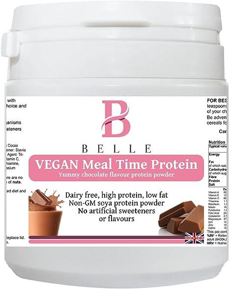 Belle® Vegan Tiempo de comidas Protein Powder - Chocolate ...