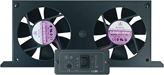 CBE Tornado - Ventilador doble para frigoríficos de camping ...
