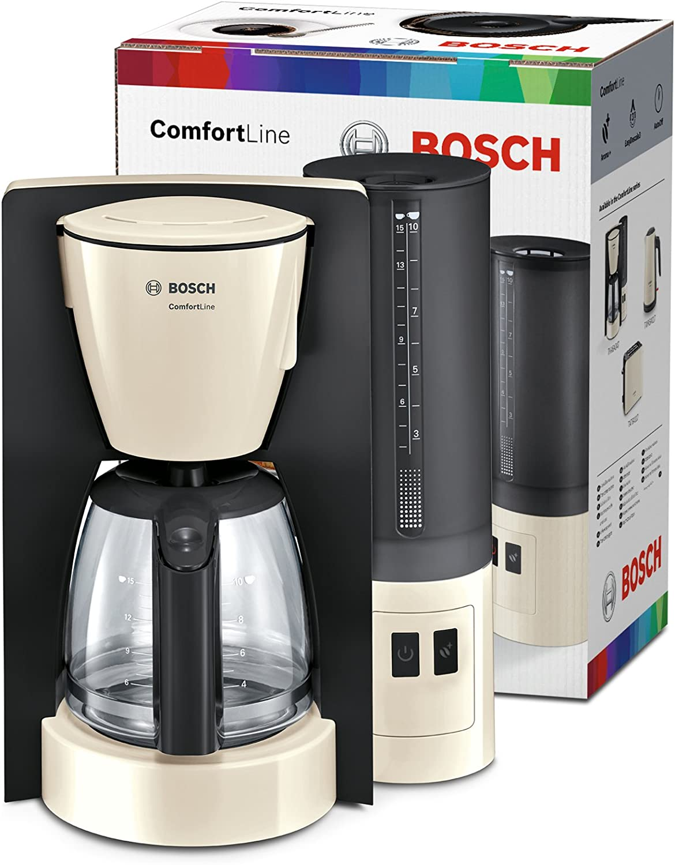 Bosch TKA6A047 Cafetera de filtro (1200 W, jarra de cristal ...
