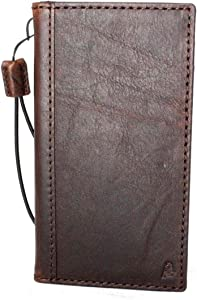 JAFO Genuine Real Leather Case for iPhone x Book Wallet Handmade Thin Cover S Luxury Oiled Cards Slots Slim Retro DavisCase