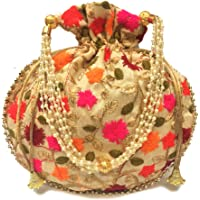 Shubh Shagun Women's Potli Bag Multicolored
