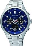 【セイコー】SEIKO Chronograph Mens Watch クロノグラフ Blue SKS585P1 【並行輸入品】