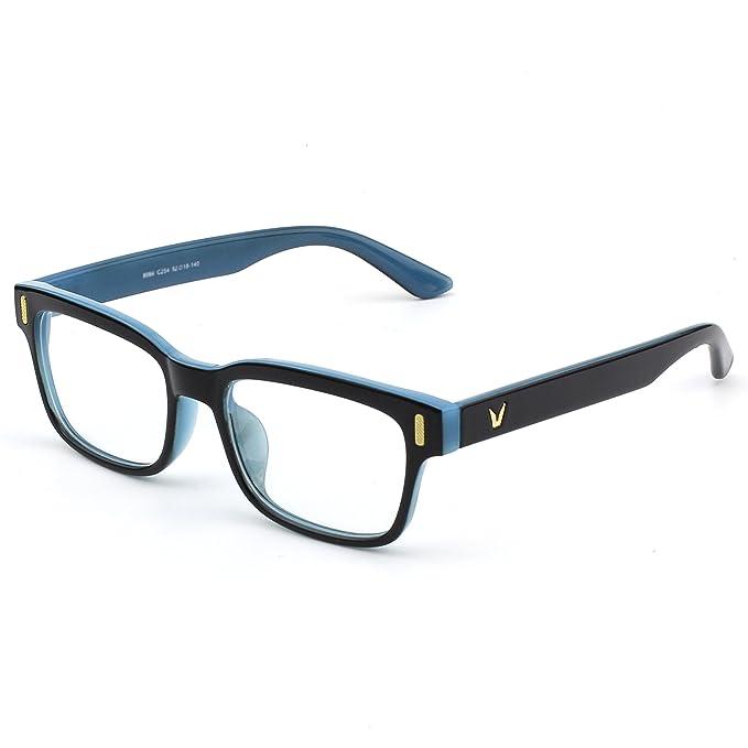 Amazon.com: GQUEEN 201584 - Gafas rectangulares con montura ...